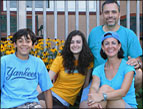 Lisa Morrone and family